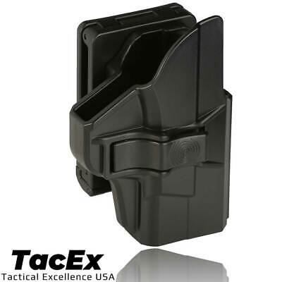 $13.99 • Buy OWB Holster For Smith & Wesson M&P Shield 3.1  9mm .40 QR Button Belt Clip Style