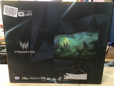 AU508.02 • Buy Acer Predator 24.5  Full HD 240 Hz IPS NVIDIA G-SYNC Compatible Gaming Monitor