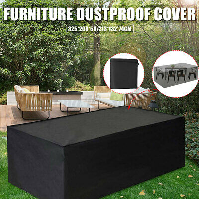 AU37.05 • Buy Waterproof Outdoor Furniture Cover Couch Lounge Garden Rain UV Protector