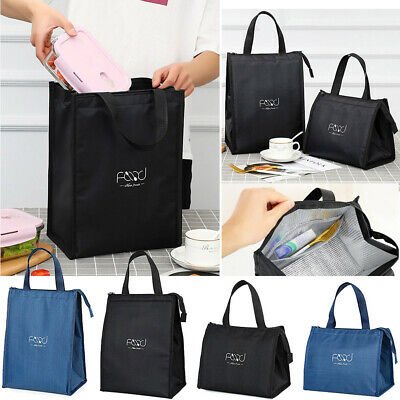 AU13.43 • Buy Portable Insulated Thermal Cooler Lunch Box Tote  Picnic Travel Bag Pouch Oxford