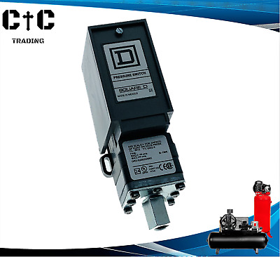 AU330.33 • Buy Square D 9012 GNG-5 Heavy Duty Pressure Switch 3-150 PSI Adjustable Differential