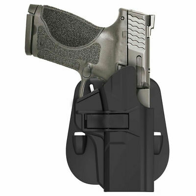 $18.12 • Buy S&W M&P 9mm .40 Smith & Wesson MP 2.0 Compact Holster Paddle OWB 60 Degree Adjus