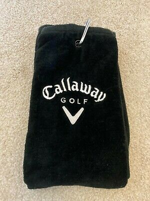 £1.24 • Buy Callaway Golf Tri Fold Corporate Cotton Bag Towel 16  X 21 - New