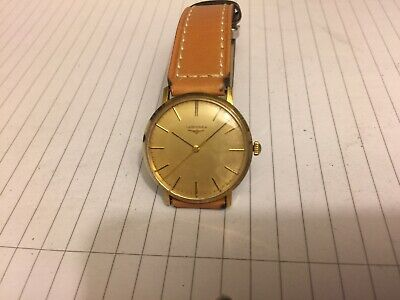 $ CDN19.60 • Buy Longines Vintage 17j Manual Wind-gold Plated-for Spares Or Repair-balance Ok
