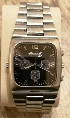 £595 • Buy Mens Very Rare Ingersoll Duo Reverso Reversible Chronograph Dual Face Watch