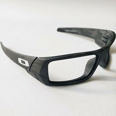 $79.99 • Buy Oakley Gascan Camo Matte Black Silver Icons Replacement Frame Only Authentic