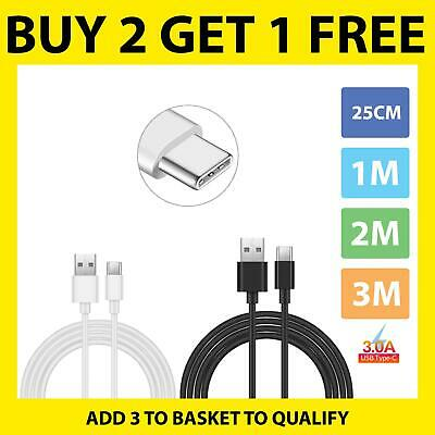 $ CDN1.70 • Buy For Samsung Galaxy M10 M11 M31 M51 Note 20 Ultra Type C Charger Data Sync Cable