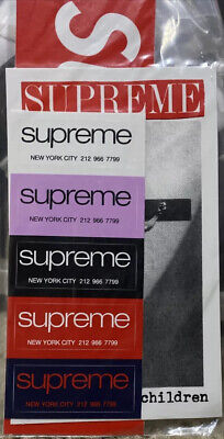 $ CDN20.14 • Buy NEW Supreme Sticker Pack Classic Logo Loved By The Children Bogo FREE SHIPPING!