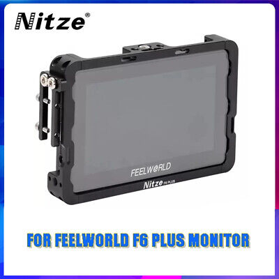 AU68.95 • Buy Nitze Monitor Cage & HDMI Cable Clamp For Feelworld F6 Plus 5.5  Field Monitor
