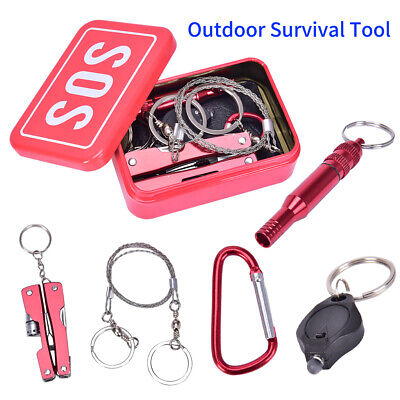 £5.99 • Buy First Aid Equipment Emergency Kit SOS Camping Survival Outdoor Self-Rescue Tool
