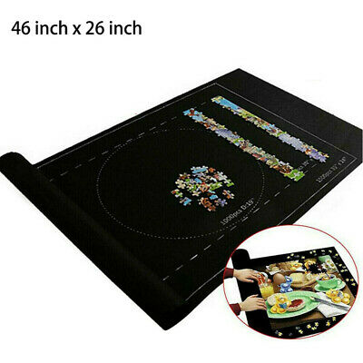 £6.54 • Buy Jigsaw Puzzle Storage Mat Roll Up Puzzle Felt Storage Pad Up To 1500 Pieces
