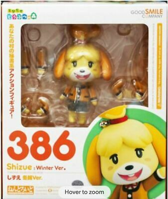 £47.99 • Buy Animal Crossing: New Leaf Nendoroid Action Figure Shizue Isabelle Winter Ver. 10