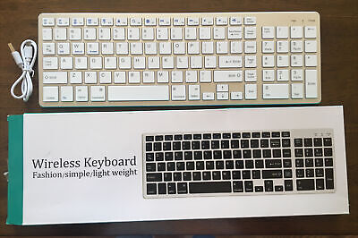 $22 • Buy Bluetooth Rechargeable Keyboard For Mac,Windows, IPad, Surface, Tablet,Android