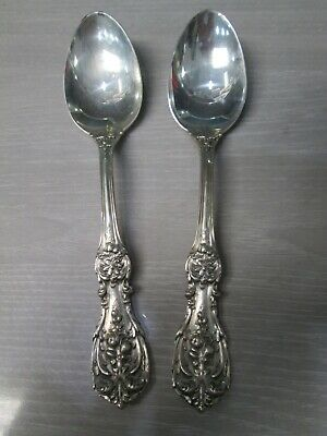 $ CDN127.03 • Buy Lot Of 2 Reed & Barton Francis I Sterling Silver Tablespoons
