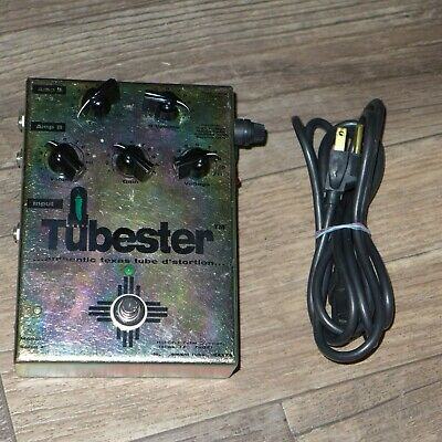 $ CDN483.98 • Buy Vintage '02 Hot Chili Tube Company Tubester 12AX7 Guitar Effect Distortion Pedal
