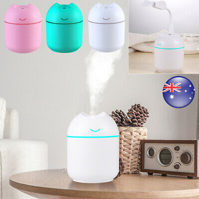 AU14.59 • Buy With Fan Ultrasonic Air Humidifier Oil Aroma Diffuser Aromatherapy For Home Car