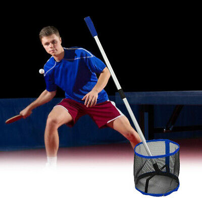 AU29.33 • Buy Ping Pong Balls Collecter Telescopic Table Tennis Ball Picker Picking Net