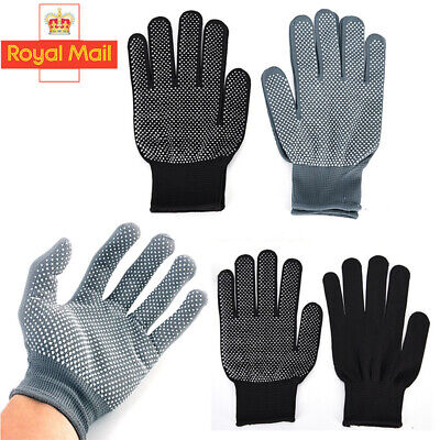 £1.99 • Buy 2pcs Heat Resistant Gloves Curling Protective Heat Proof For Hair Straightener