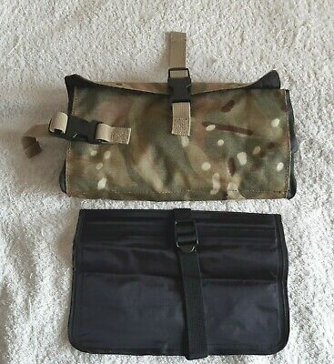 £9.99 • Buy British Army Sa80 Mtp Tool Roll Pouch, Plus Mission Pouch, No Tools.