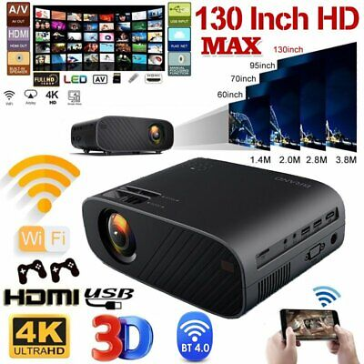 AU130.14 • Buy New Portable Pocket Projector HD 1080P LCD Home Theater Video Projector HDMI USB