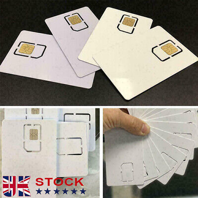 £4.14 • Buy New Phone White Unlock Sim Chip For IPhone 12 11 X XS Max XR 8 7 SE Reuse UK.