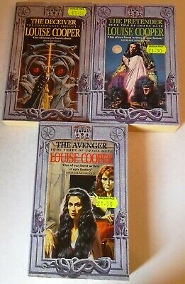 £20 • Buy Louise Cooper - The Chaos Gate Trilogy - UK 1st Paperbacks (x 3) - 1993