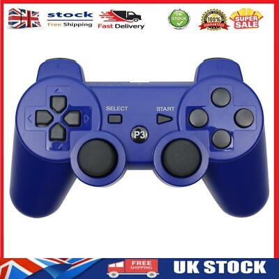 £9.49 • Buy For PS3 Bluetooth Gamepad Dual Vibration Controller For PlayStation 3 Blue