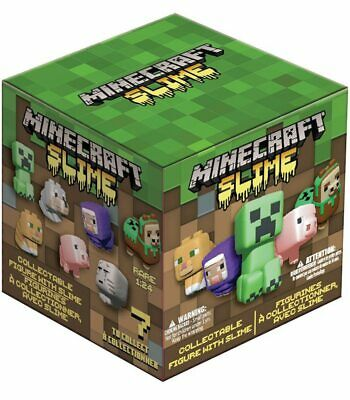 AU27 • Buy Minecraft Slime Mini Figure With Slime 2 Pack - Blind Box Includes Free Post