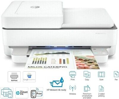 £34.99 • Buy HP Envy 6432/6430 Wireless All-in-One Inkjet Photo Printer Fax ADF *NO INKS*