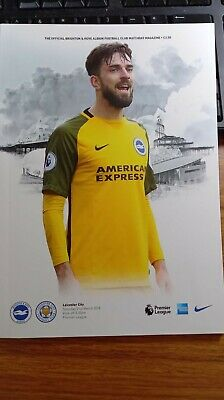 £1.99 • Buy Brighton Home Programmes 2017-18 *choose From List*