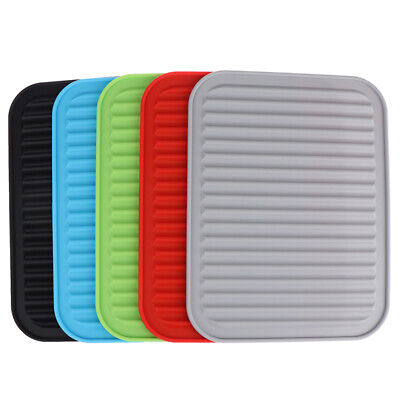 £6.69 • Buy Silicone Trivets For Hot Pot Pan Heat Resistant Mat Durable Pads Kitchen Co AKA