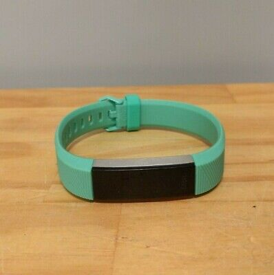 AU45 • Buy Fitbit Alta HR Heart Rate & Fitness Activity Tracker - Aqua Blue (Large Band)