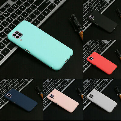 £1.98 • Buy Case For Huawei P40, P40 Lite Pro Matte Soft Silicone TPU Shockproof Back Cover