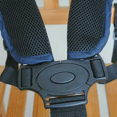 £4.66 • Buy 5 Point Child Safety Strap Buggy Pushchair Adjustable Seat Belt Harness Baby