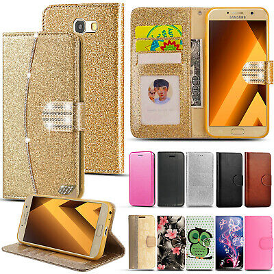 £1.99 • Buy Case For Samsung Galaxy J6 A5 J3 J5 A3 Cover Flip Wallet Leather Magnetic Luxury