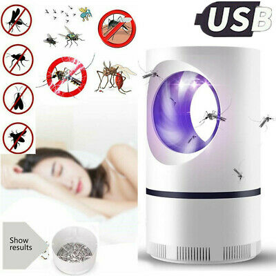 £6.95 • Buy Electric UV LED Light Mosquito Killer Insect Fly-Bug Zapper Trap Catcher Lamp UK