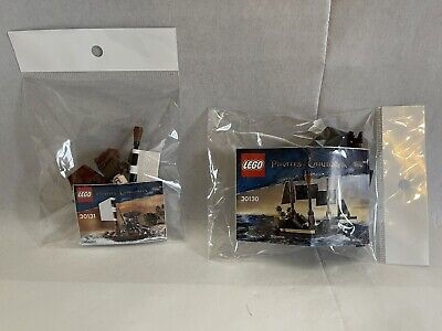 £18 • Buy Lego Pirates Of The Caribbean 30131 Jack Sparrow's Boat & 30130 The Black Pearl