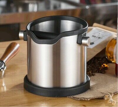 AU45.99 • Buy 304 Stainless Steel Coffee Knock Box/Tube For Home Grounds Or Coffee Shop