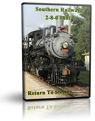 £14.20 • Buy Southern Railway 2-8-0 #401: Return To Steam Diverging Clear Train DVD Video