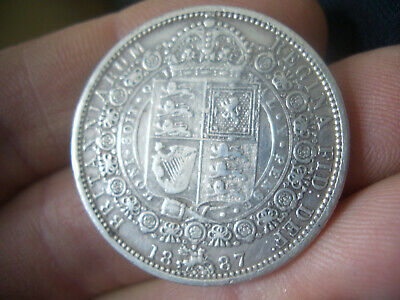 £40 • Buy Silver Victorian Half Crown  Coin Dated 1887 High Grade Coin