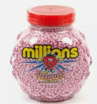 £23 • Buy MILLION Sweets The Tiny Tasty Chewy Sweets Jar Vegetarian Vegan