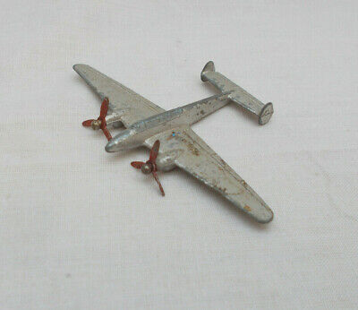£10 • Buy Vintage Dinky Toys 731 Twin Engined Fighter Aircraft - Made In England