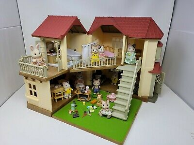 £53.10 • Buy Calico Critters House Lot Lots Of Dolls Accessories And Furniture