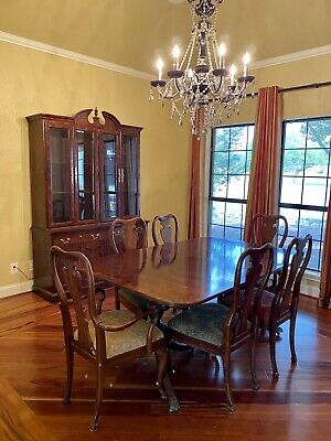 $6500 • Buy Thomasville Mahogany 11 Piece Dining Room Set-One Owner-Excellent Condition