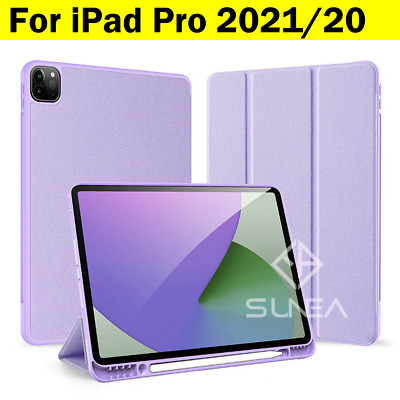 AU32.95 • Buy For IPad Pro 12.9/11 2021/2020 Smart Case Silicon Shockproof Cover Pen Holder