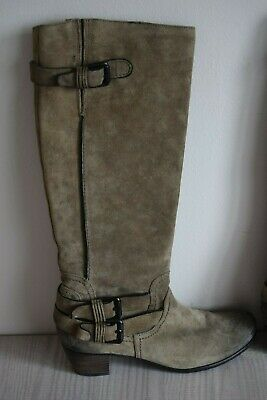£18.90 • Buy K&S Kennel & Schmenger Boots UK 5 EU 38 Union Taupe Suede