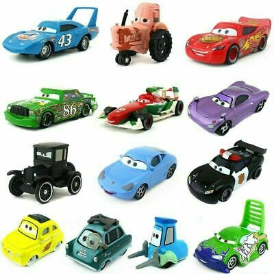 £3.99 • Buy Disney Pixar Cars McQueen Mater King Chick Hicks Holly 1:55 Diecast Vehicle Toys