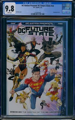 £56.63 • Buy DC Nation (DC) CGC 9.8 Future State Preview Yara Flor Cover Appearance
