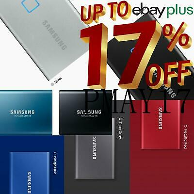 AU269 • Buy Samsung T7 Touch T7 T5 Portable External Solid State Drive SSD 500GB 1TB 2TB