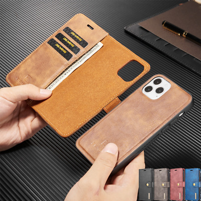 AU16.19 • Buy For IPhone 12 Pro Max 13 11 XS XR 8 Plus SE Magnetic Wallet Case Removable Cover